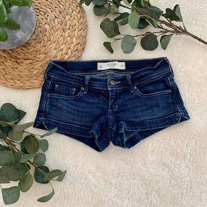 Abercrombie mini shorts